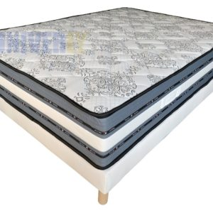 Sommier + matelas ERGO THERAPY 140×190 / 30cm d'épaisseur