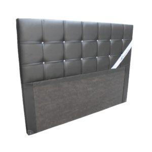 Tete de lit capitonnée Contemporain NOIR/BLANC